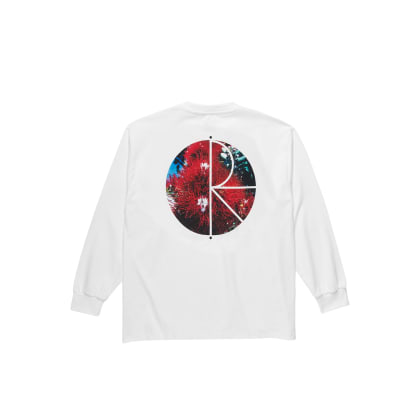 Polar Skate Co Callistemon Fill Long Sleeve T-Shirt - White