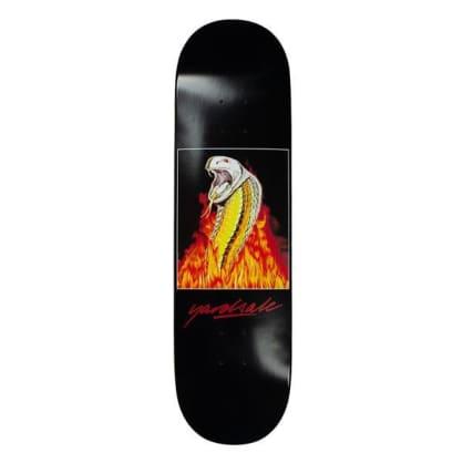 Yardsale Skateboards Snakebite Skateboard Deck Black - 8.5
