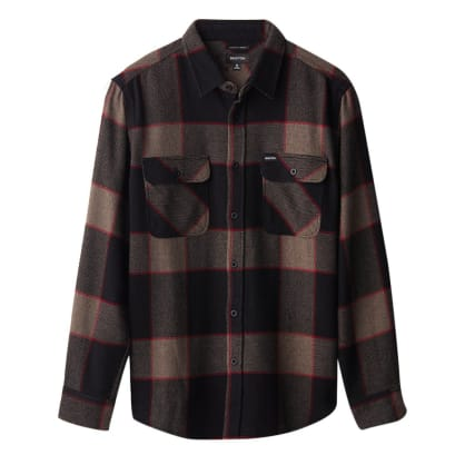 Bowery Flannel - Heather Grey/Charcoal