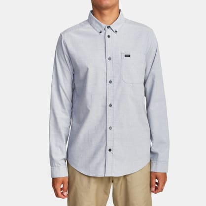 RVCA Thatll Do Stretch Long Sleeve Shirt