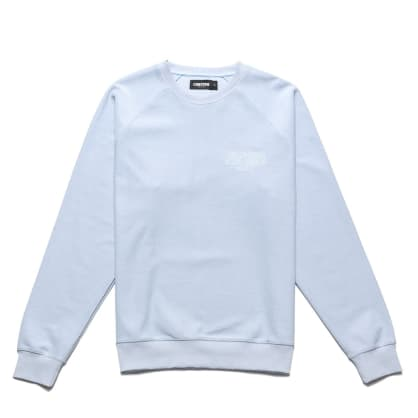 Chrystie NYC - Reversed French Terry crewneck_Ice blue