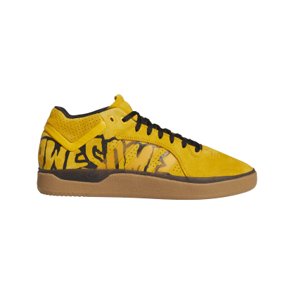 adidas Tyshawn Fucking Awesome Skate Shoe - Active Gold / Core Black / Gum 4