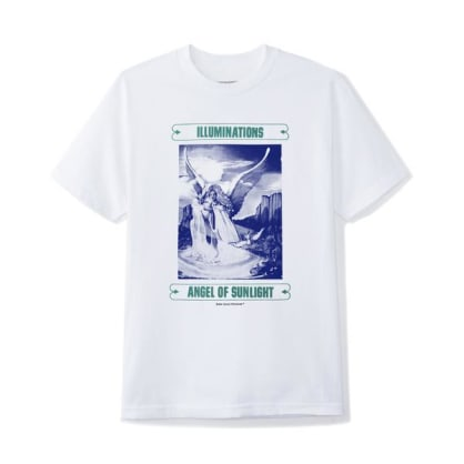 ButterGoods ILLUMINATIONS TEE, WHITE