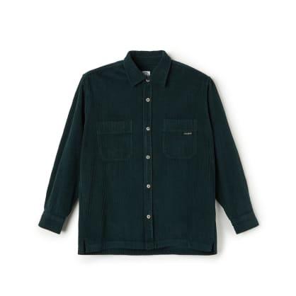Polar Skate Co Cord Shirt - Dark Green