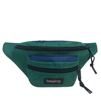 The BumBag Co Louie Lopez Hybrid Basic Hip Pack - Green & Navy