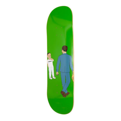 Alltimers Laughing Skateboard Deck - 8.25""