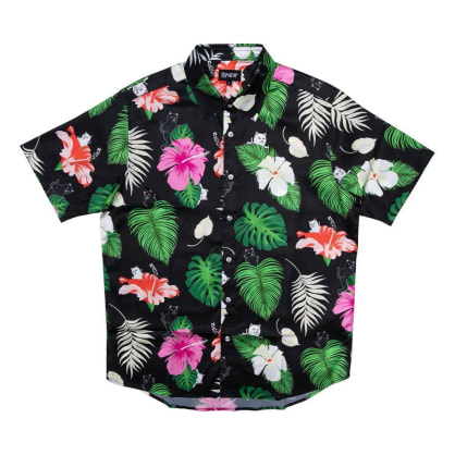 Ripndip Maui Nerm Button Up Shirt - Black