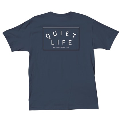 The Quiet Life Standard Logo Tee - Navy