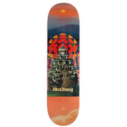 Primitive McClung Temple Skateboard Deck - 8.25
