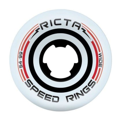 Ricta Speedrings Wide Black/Red 99a Wheels - 54mm