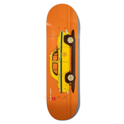 Chocolate Tershy World Taxis 8.5 Skateboard Deck