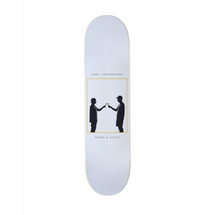 April Cheers Skateboard Deck - 8.25""