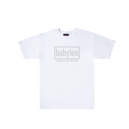 "BABYLON LA - ""VOID T-SHIRT"" (WHITE)"
