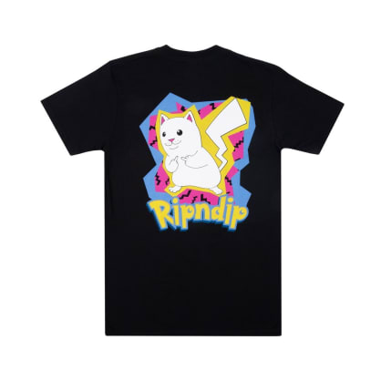 Rip N Dip Catch Em All T-Shirt - Black