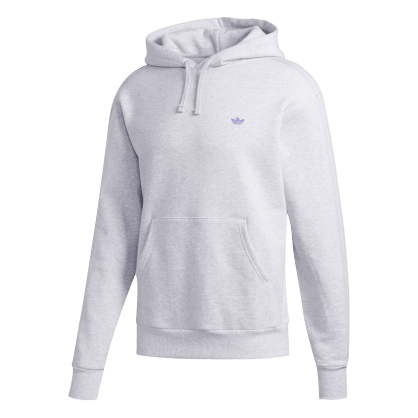 adidas Shmoo Hoodie - Light Grey Heather / Purple