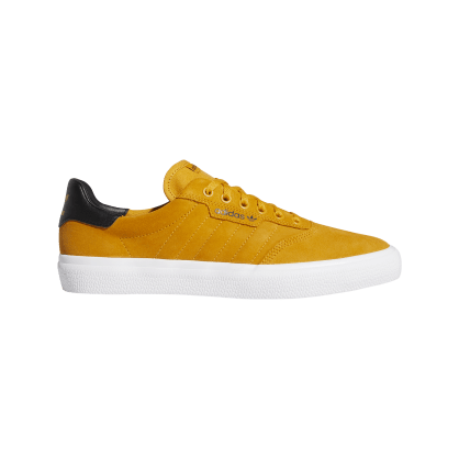 Adidas 3MC Skateboarding Shoes - Yellow/Core Black/Cloud White