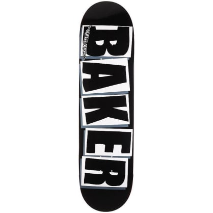 Baker Skateboards - Brand Logo - Black 8.25""