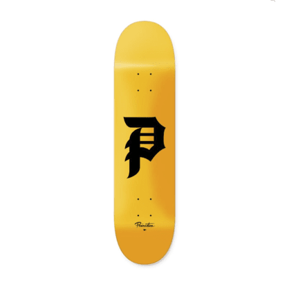 PRIMITIVE Dirty P Core Deck Yellow