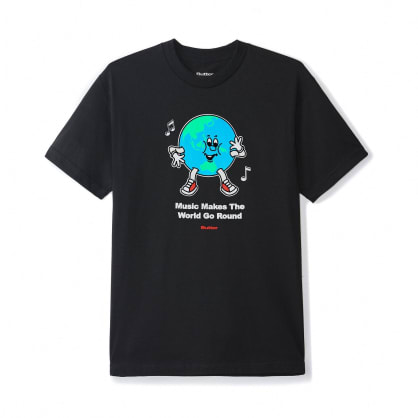 Butter Goods Go Round T-Shirt - Black