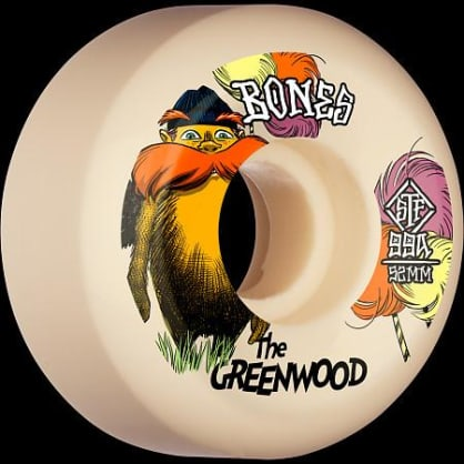 Bones Wheels - The greenwood V5 99A STF 52MM/54MM