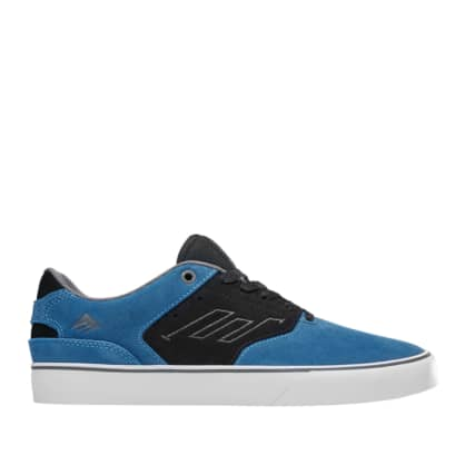Emerica The Reynolds Low Vulc Shoes (Kids) - Blue / Black / White