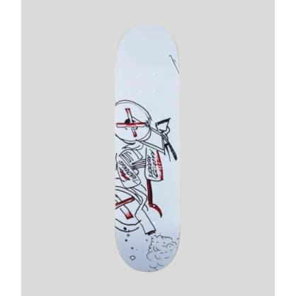 "Krooked Ronnie Sandoval Racer Skateboard Deck 8.6"""
