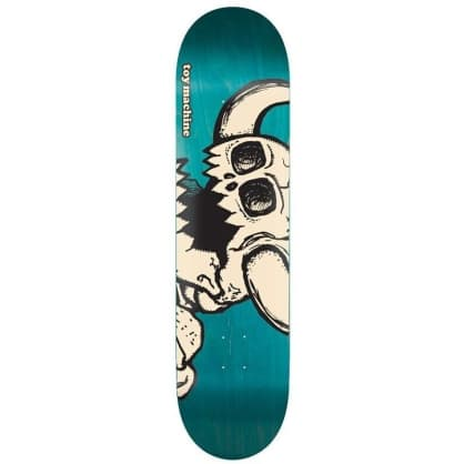 "Toy Machine Dead Monster Deck 8.25"" (Assorted Stains)"