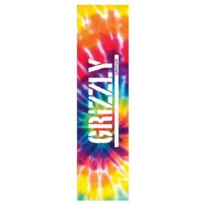 Grizzly Tie Dye Stamp Griptape