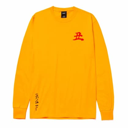 HUF Zen Year of the Ox Longsleeve T-Shirt - Gold