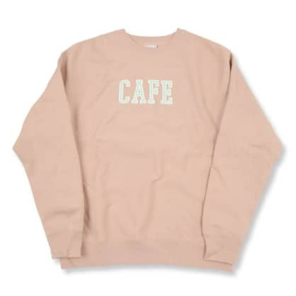 Skate Cafe - College Heavyweight Crew (Dusty Pink)