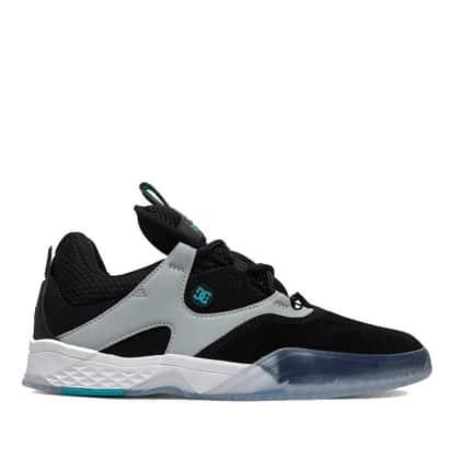 DC Kalis SE Skate Shoes - Black / Green / Grey