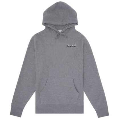 Fucking Awesome Little Stamp Hoodie - Gunmetal Heather