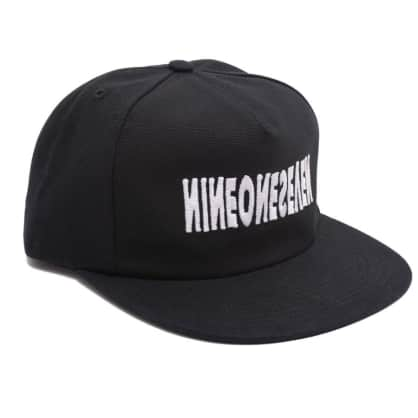 Call Me 917 Cyber Logotype Hat - Black