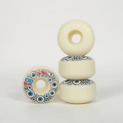 Heroin Skateboards - 54mm (101a) Eyes Skateboard Wheels