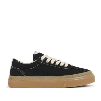 Stepney Workers Club Dellow Womens Canvas Shoes - Black / Gum