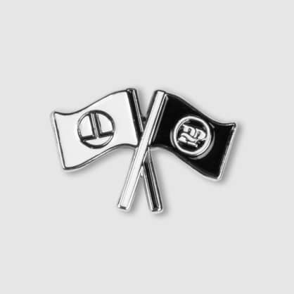 Pass Port - Low Life Flag Pin