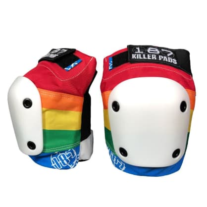 187 Slim Knee Pads (Rainbow)