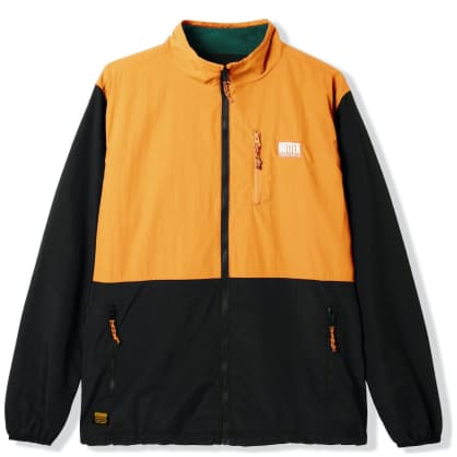 Butter Goods Search Jacket - Black / Peach