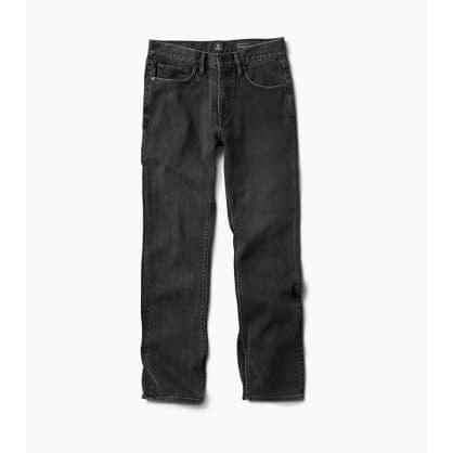 Roark HWY 128 Straight Fit Jeans - Worn Black