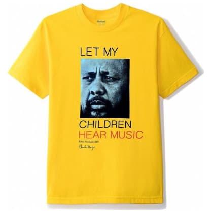 Butter Goods Let My Children Hear Music T-Shirt - Yellow