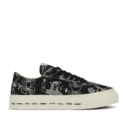 Stepney Workers Club x Endless Joy Dellow Womens Canvas Shoes - Gorgon