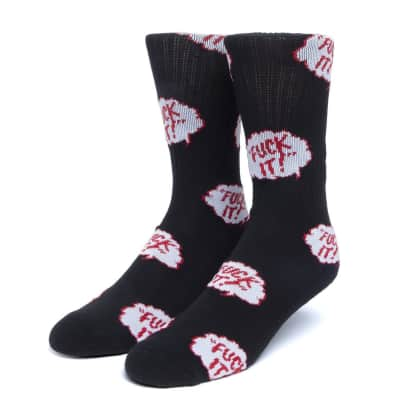 HUF - HUF The Motto Socks | Black
