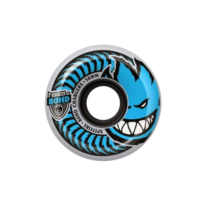 Spitfire 80HD Charger wheels (58mm), Clear