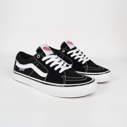 Vans - Skate Sk8-Low Shoes - Black / White