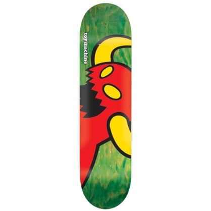 "Toy Machine Vice Monster Deck 8.38"" (Green Stain)"