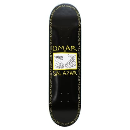 "Doom Sayers - 8.4"" Omar Snake Shake Shovel Nose Deck - Black"