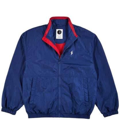 Polar Skate Co Track Jacket - Blue / Red