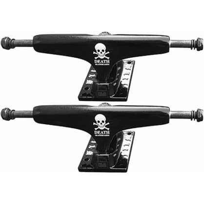 Death x Film Collab Truck (Black) 5.25 Set Of 2 Trucks