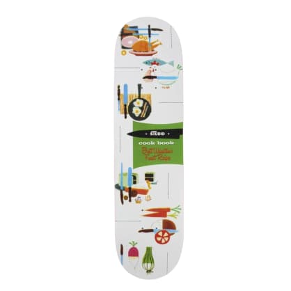 """Studio Weinstein Cookbook 8.375"""" Skateboard Deck"""
