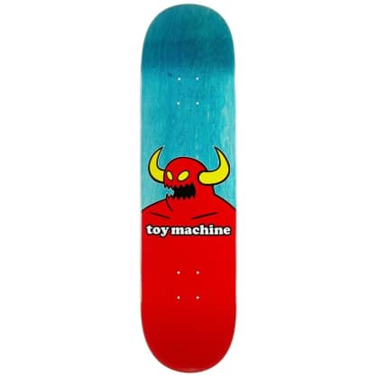 "Toy Machine Monster Deck 8.5"" (Assorted Stains)"